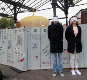 prisoners protest with wall and dome xx