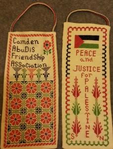 Saleema's embroidery