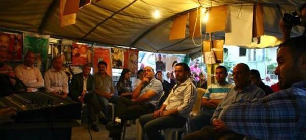prisoner tent 2 Abu Dis spring 2017
